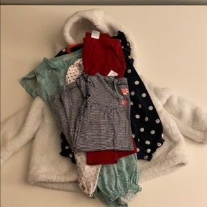 Carters Baby Clothes Bundle Set